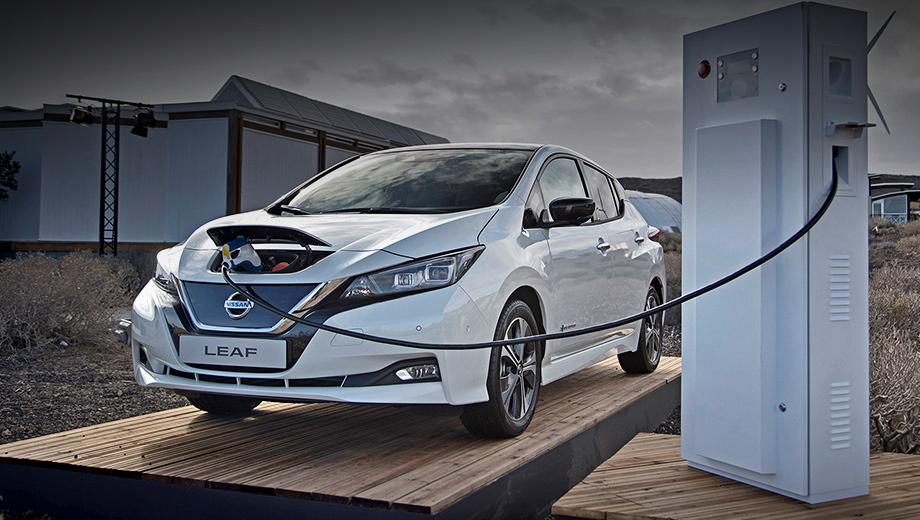 Nissan leaf. «Второй» Leaf в сентябре получил одобрение типа транспортного средства в России, но в сертификате указана мощность не 110, а 90 кВт (122 л.с.). В графе «Запас хода» написано: 270 или 285 км. Nissan выпустит Leaf на наш рынок, если ощутит поддержку государства.