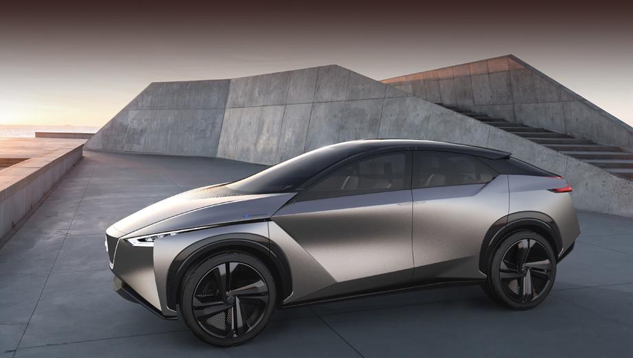 Nissan concept. Представленный весной 2018 года в Женеве IMx Kuro задал общее направление для батарейных паркетников бренда. Следующие концепты в этом ряду мы можем увидеть в Детройте в январе 2019-го и в Женеве в марте. Точных данных, впрочем, нет.