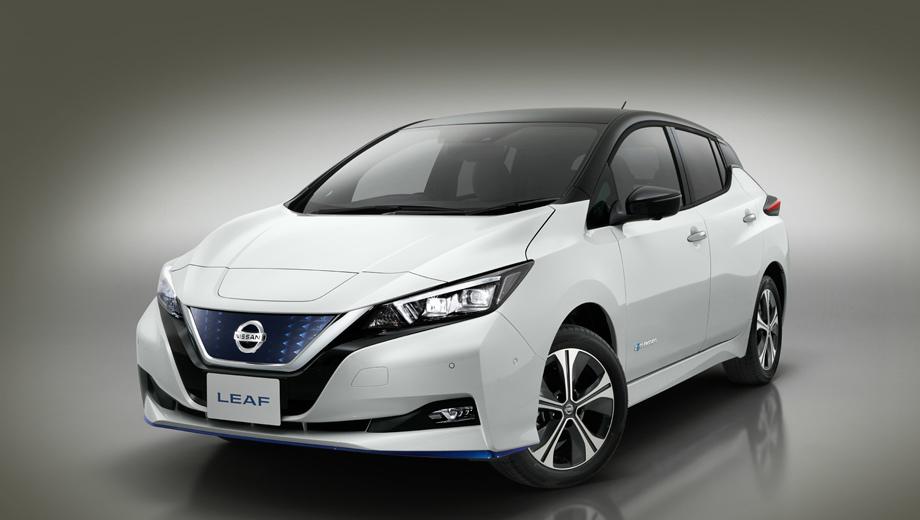 Nissan leaf. Автомобиль показан публике в рамках выставки электроники CES в Лас-Вегасе. На рынке Leaf с «плюсом» появится сперва дома, в Японии. Произойдёт это в ближайшие дни. Весной «дальнобойная» версия попадёт к покупателям в США, а в середине года станет доступна и в Европе.