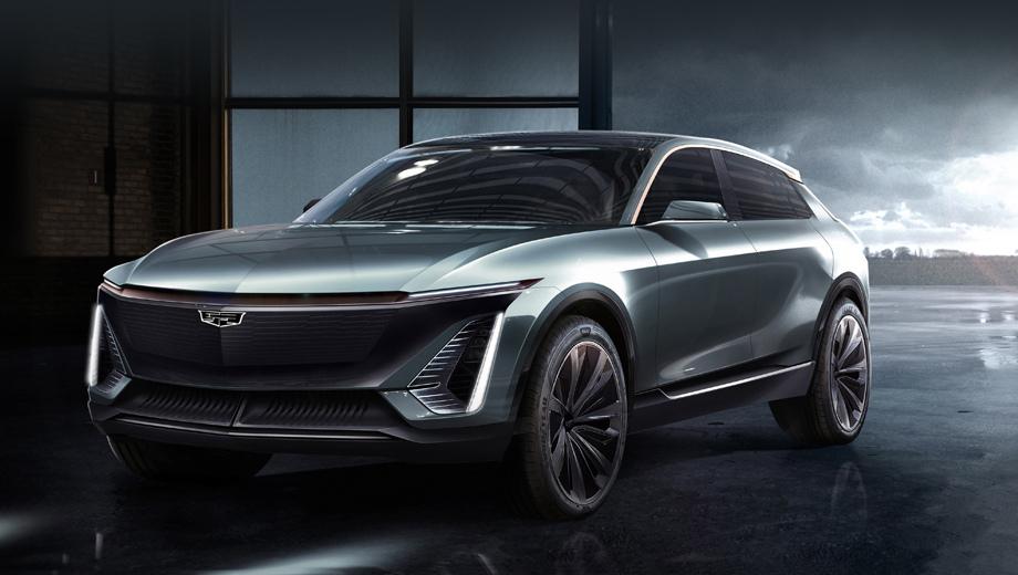 Cadillac concept,Cadillac ev. До 2021 года компания намерена представлять примерно по одной новой машине каждые полгода. Однако данный паркетник вряд ли успеет стать серийным в этот период, придётся подождать года два-три. Получится, видимо, соперник для модели Mercedes-Benz EQC или Jaguar I-Pace.