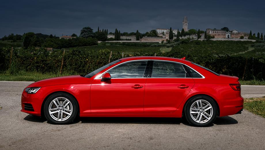 Audi a4,Audi a5. По итогам года собратья Audi A4/A5 занимают вторую строку в своём классе в России. Весной немцы должны выкатить рестайлинговую машину, чтобы поднять интерес ещё больше.