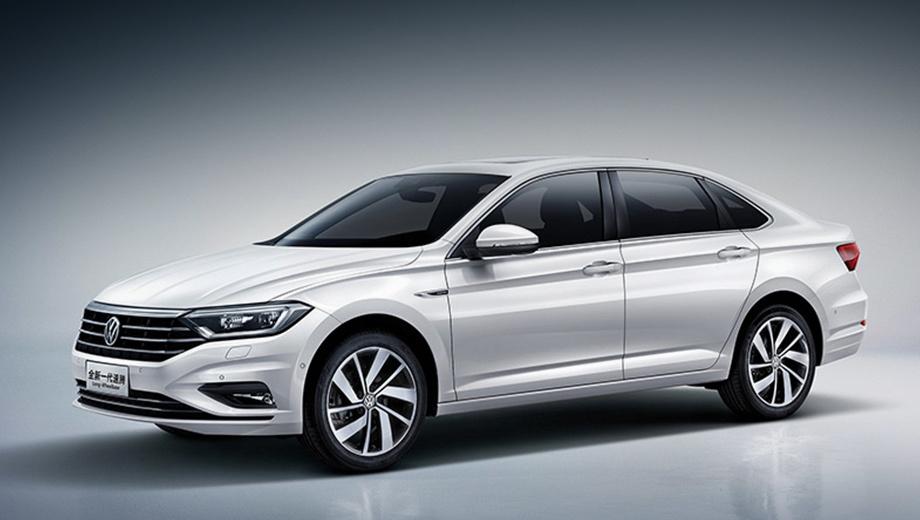 Седан Volkswagen Sagitar похвастался длинной базой