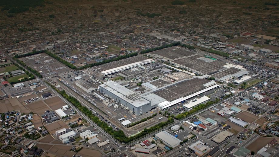 Марка Subaru остановила производство на главном заводе