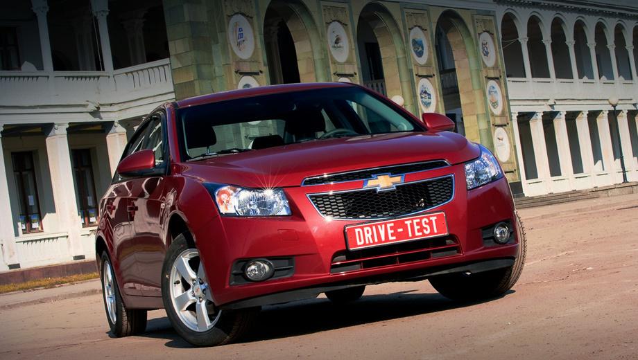 Chevrolet cruze. Cruze выпускается на заводе GM в Санкт-Петербурге и продаётся в России наравне со своим формальным предшественником Lacetti.