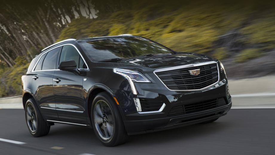 Cadillac xt5. Президент компании Cadillac Стивен Карлайл считает, что «мрачный агрессивный вид» XT5 в этом варианте привлечёт к модели дополнительную аудиторию.
