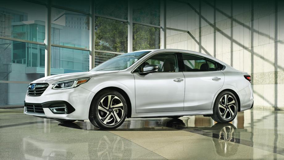 Новый седан Subaru Legacy получил наддувный мотор 2.4 ...