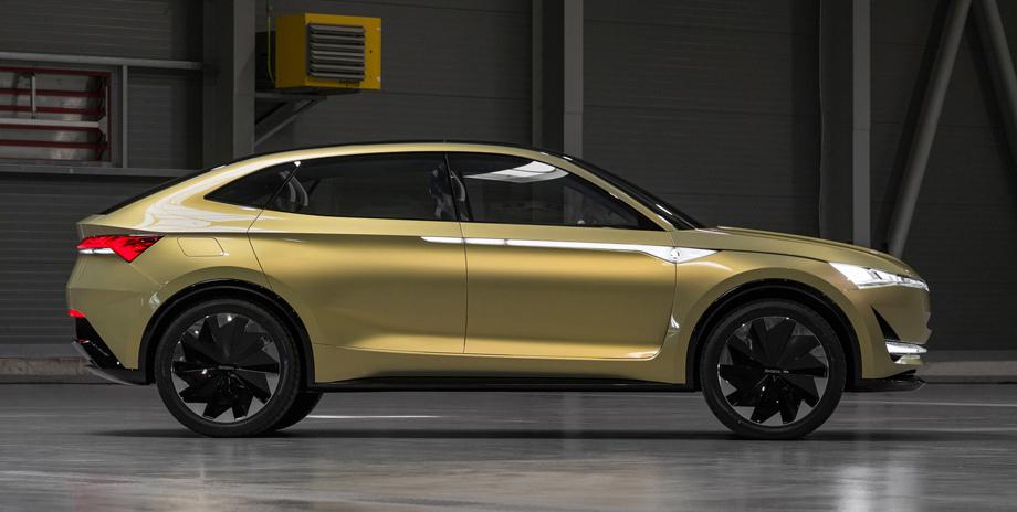 Компания Шкода планирует выпустить электромобиль