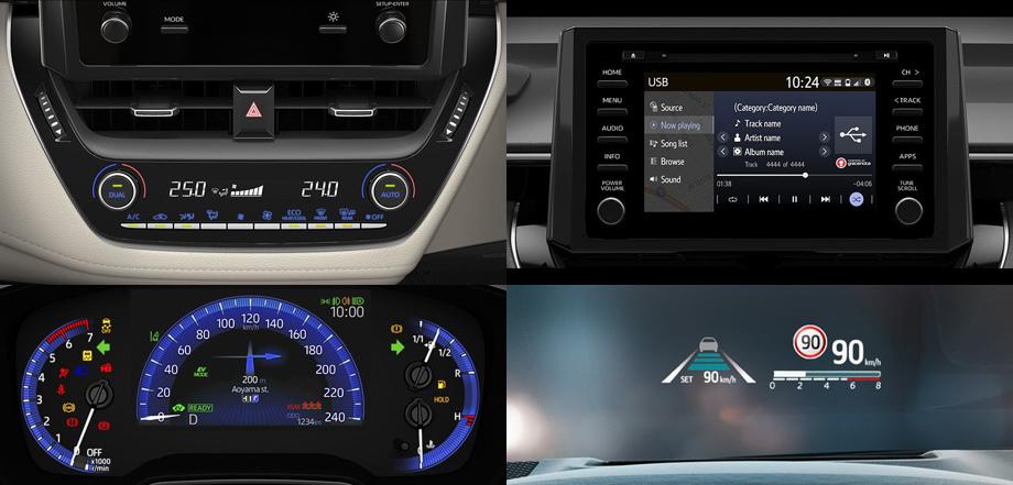 Модель Toyota Corolla нового поколения оценена в рублях
