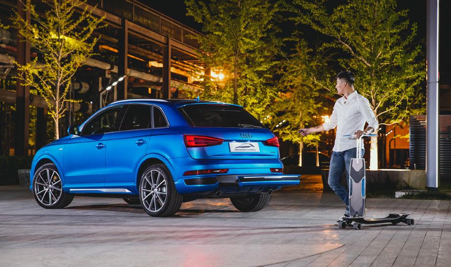 Компания Audi представит в Женеве пять машин на батареях