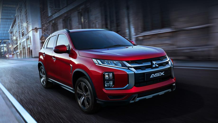 Mitsubishi asx. Результат рестайлинга модели широкая публика сможет оценить в начале марта на Женевском автосалоне.
