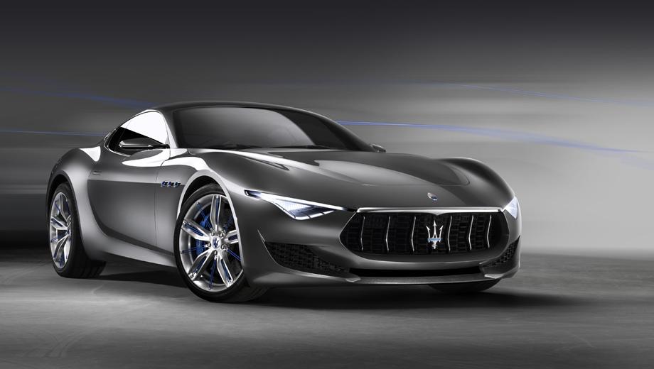 Maserati alfieri. Концепт Alfieri был показан в 2014-м, в том же году итальянцы наметили серию на 2016-й, с мотором V6 в разных вариантах (от 410 до 520 л.с.), но уже в шестнадцатом проект отложили.