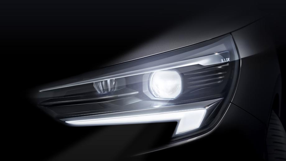 Opel corsa. Матричный адаптивный головной свет в сегменте B, по заверению Опеля, является примером демократизации технического прогресса.
