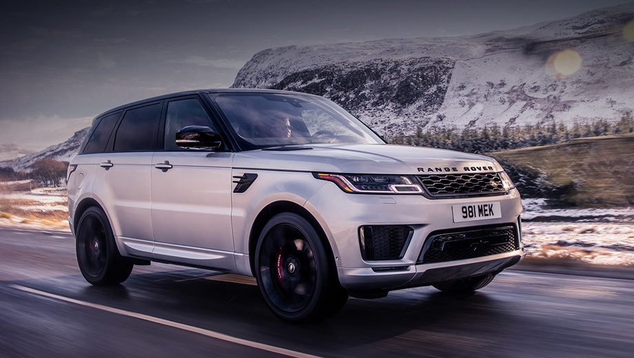 Range Rover Sport HST вывел в свет новую «шестёрку»