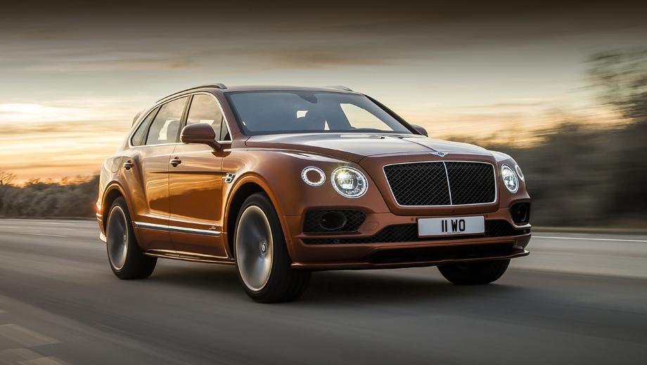 Bentley bentayga,Bentley bentayga speed. Премьера автомобиля на публике состоится в марте на Женевском автошоу. В компании считают форсированную Бентайгу достойным продолжателем традиций линейки Speed, которая развивается уже двенадцать лет.