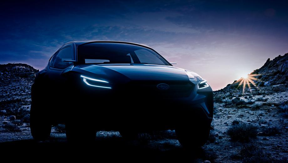 Subaru viziv,Subaru viziv adrenaline,Subaru concept. Внешне машина напоминает трёхдверный хэтчбек в приподнятом, вседорожном исполнении.