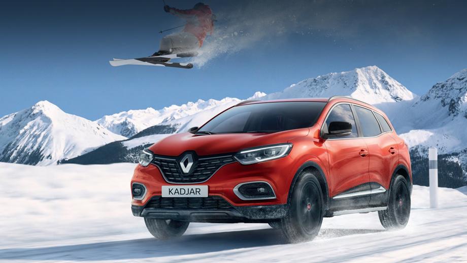 Издание Renault Kadjar ESF привлечёт фанатов лыжного спорта