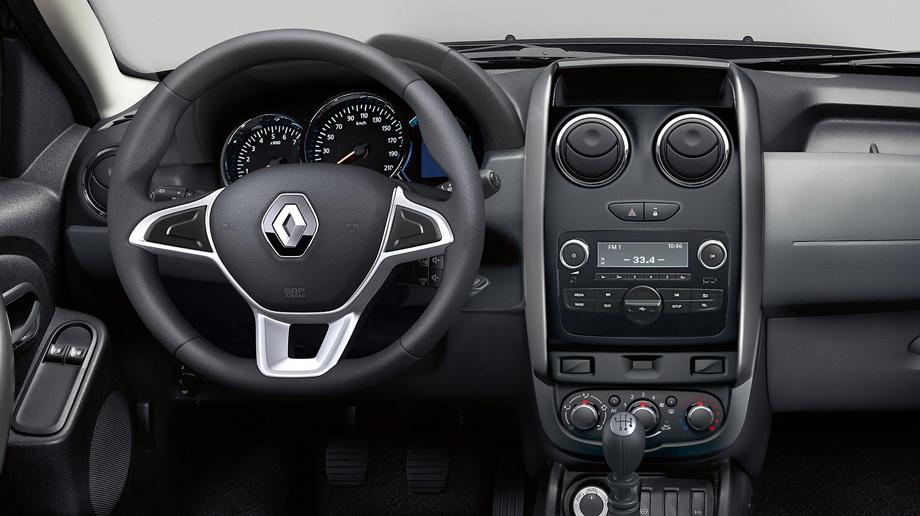 Кроссовер Renault Duster немного улучшился в России