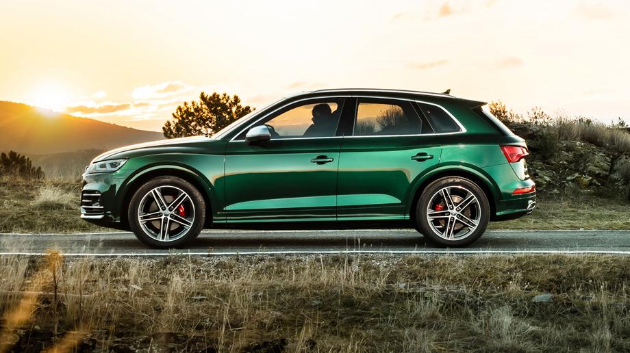 Паркетник Audi SQ5 TDI удивил сложной силовой установкой