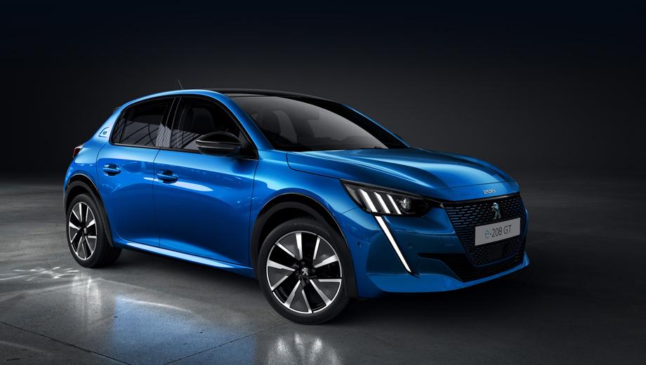 Peugeot 208,Peugeot e-208. Как и все свои последние концепты, премьеру нового 208-го французы сопровождают хэштегом #UnboringTheFuture, предлагая не скучать за рулём. Справедливый тезис, поскольку модель поменялась радикально.