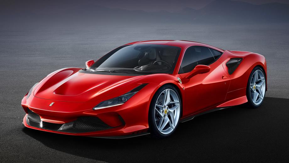 Ferrari f8 tributo. Ferrari Styling Center, сотворивший F8 Tributo, говорит о «новом языке дизайна», который впредь будет подчёркивать ключевые характеристики продуктов Ferrari. И тут же приводит в пример решения, уже опробованные на купе и спайдере 488 Pista, а именно воздуховод S-Duct на носу.