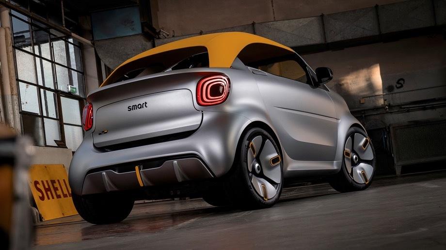 Смарт отметит переход наэлектротягу стильным кабриолетом— EVmode.ru— Правильные автомобили