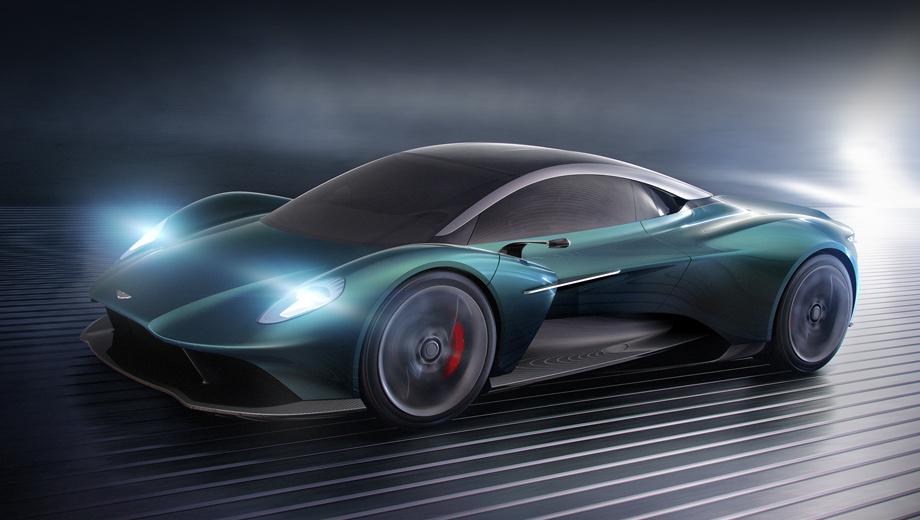 Aston martin vanquish,Aston martin vanquish vision,Aston martin concept. На рендерах, предвещавших концепт, окраска выглядит похожей на «британский гоночный зелёный», разве что посветлее. На реально построенном автомобиле (смотрите кадры ниже) оттенок уходит в синеву.