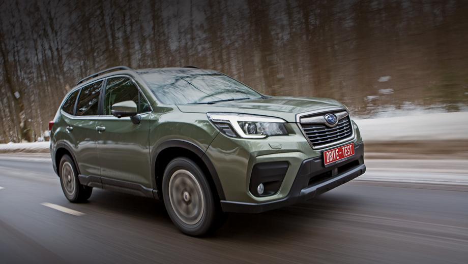Subaru forester. Стартовая цена составляет 2,03 млн рублей. А в сопоставимой комплектации Elegance ES двухлитровый Forester за 2,4 млн на 100 тысяч рублей дешевле, чем с мотором 2.5.