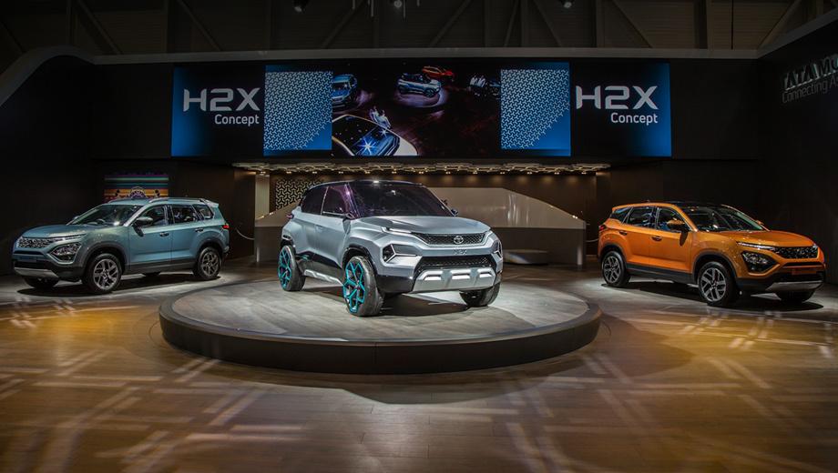 Tata buzzard,Tata buzzard sport,Tata altroz,Tata h2x. Тогда как Jaguar Land Rover отказался ехать в Женеву, чтобы сэкономить средства, его хозяева из Таты провели настоящий бенефис: четыре мировых премьеры и одна европейская. Представлены три новые серийные машины и два концепта.