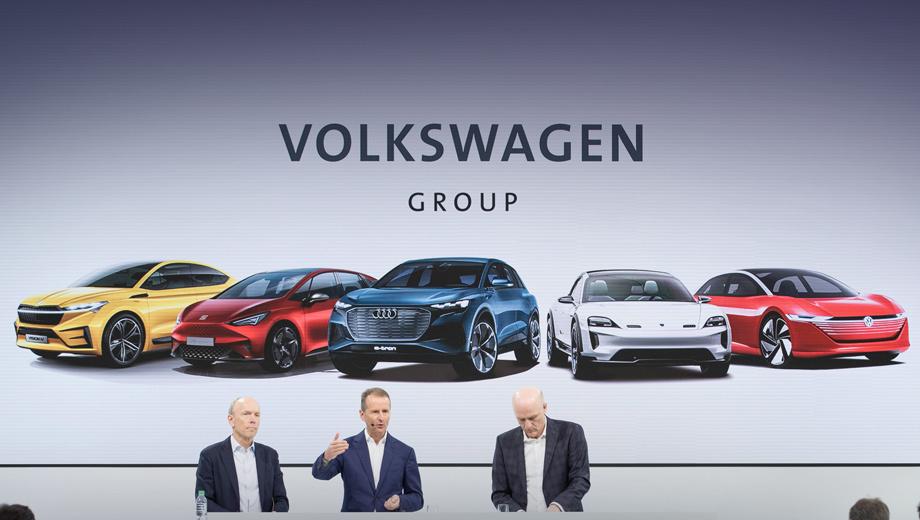 В ближайшие 10 лет Volkswagen выведет на рынок 70 новых электромобилей