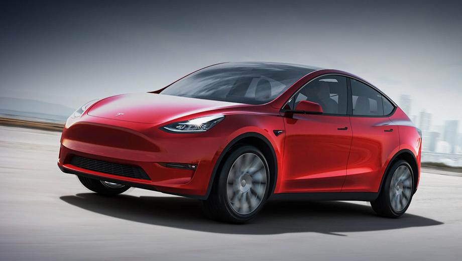 Tesla model y. Премьера состоялась сегодня в Лос-Анджелесе. Язык не поворачивается назвать Model Y кроссовером, но в терминологии Теслы это mid-size SUV. Размеры не названы, и приходится ориентироваться по Модели 3, чья длина, ширина, высота — 4694×1849×1443 мм, колёсная база — 2875.