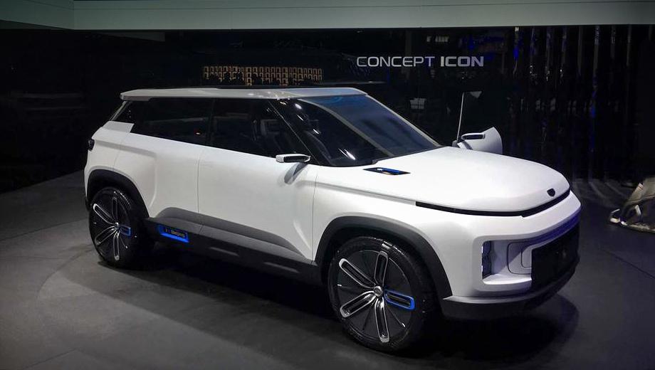 Geely sx12. Шоу-кар Geely Icon (на фото) был представлен год назад в Пекине как дизайнерское исследование. Никто и подумать не мог, что это прототип серийной модели, очень точно её описывающий. К тому же премьера не сопровождалась никакими характеристиками.