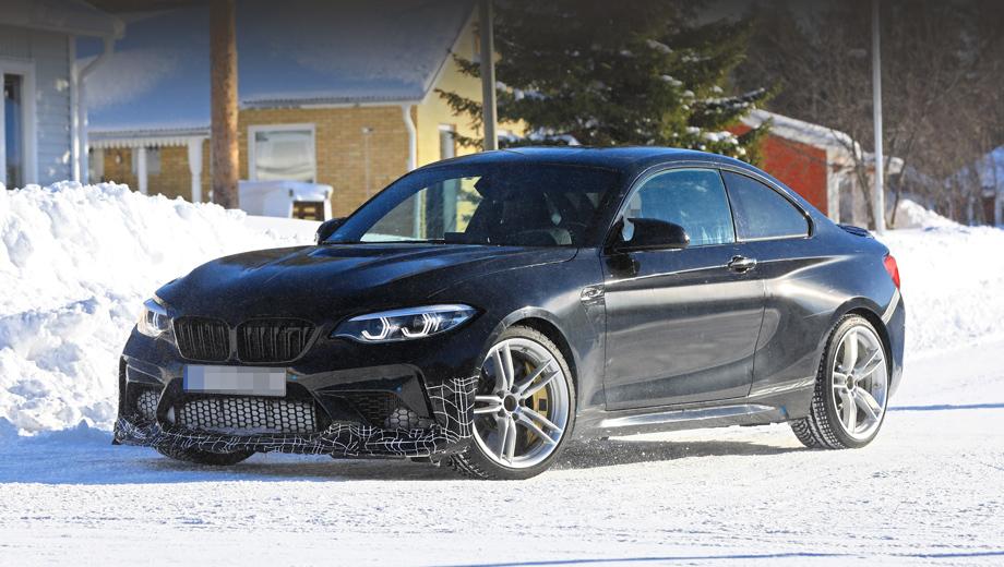 Bmw 2,Bmw m2,Bmw m2 cs. Впервые M2 CS фотошпионы заметили на Северной петле ещё в прошлом году, но в ходе зимних тестов новой версии BMW им удалось подобраться к машине поближе. В том числе получить снимки интерьера и мелких деталей кузова.
