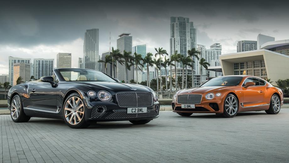 Bentley continental gt. Конечно, на крышке мотора будет знак Bentley. Но нетрудно догадаться, что «восьмёркой» с этой парой моделей поделился соплатформенный хэтчбек Porsche Panamera Turbo, как и восьмиступенчатым «роботом». У «британцев» и «немца» одинаковая отдача, и динамика разгона очень близка.