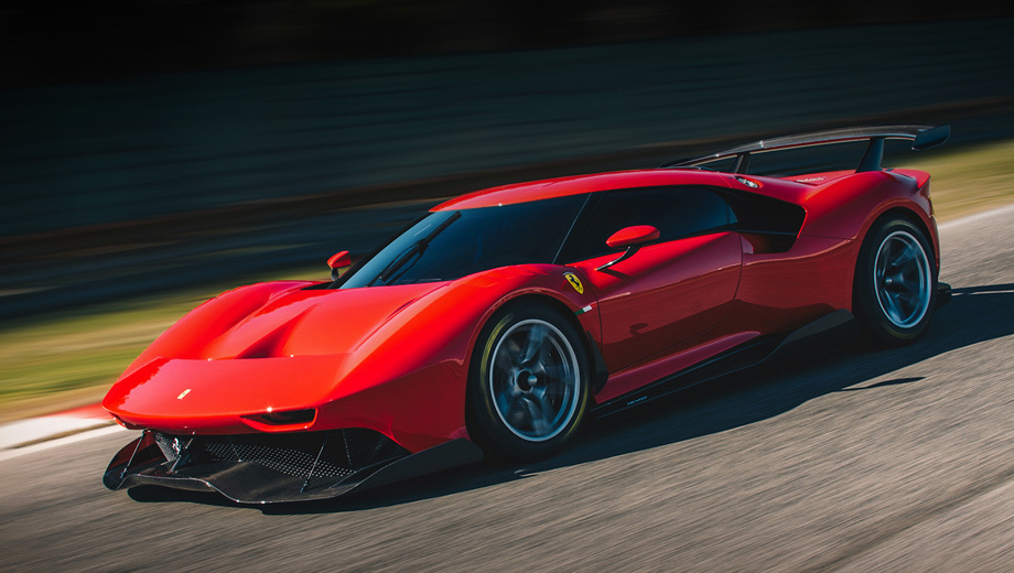 Ferrari p80/c. Создание автомобиля, не предназначенного для дорог общего пользования, заняло четыре года. Ferrari называет это самым долгим заводским проектом такого рода, ссылаясь на глубокую дизайнерскую и аэродинамическую проработку. Четыре года, однако.
