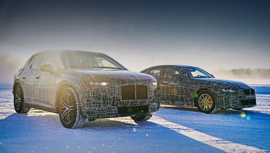 Bmw inext,Bmw i4. Электромобили завершают интенсивную программу тестов в испытательном центре BMW Group, который находится «на краю полярного круга» в шведском Арьеплуге.