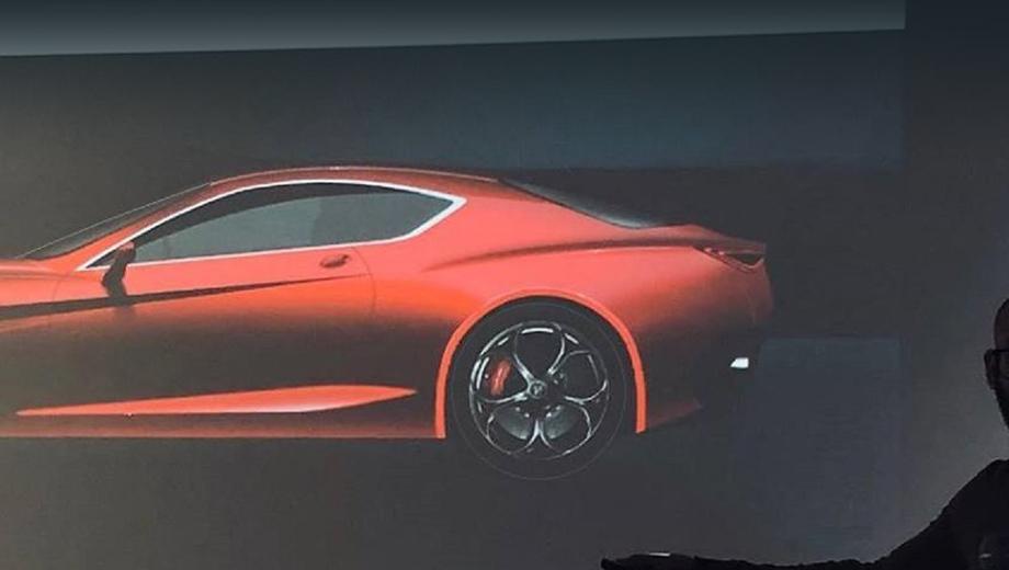 Alfaromeo gtv. Если проект будет доведён до конца, выпускать это купе будет, скорее всего, завод в Кассино, собирающий соплатформенную Джулию.