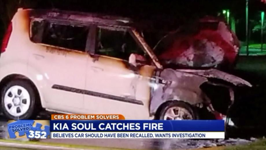 Хюндай и Кия привлекли к изучению из-за нередких возгораний авто