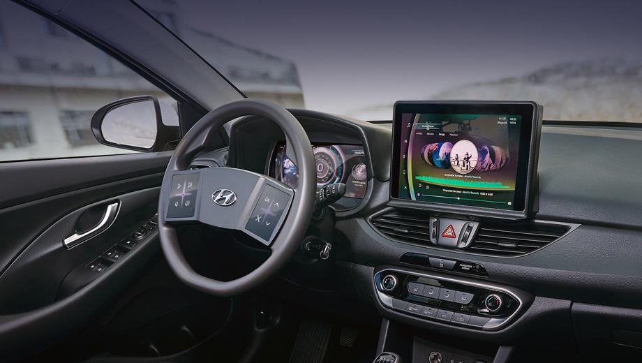 Hyundai concept. Для демонстрации концепции выбран доступный хэтчбек Hyundai i30, поскольку компания убеждена:  инновации должны быть не прерогативой дорогих сегментов, а достоянием «широкой клиентской базы».