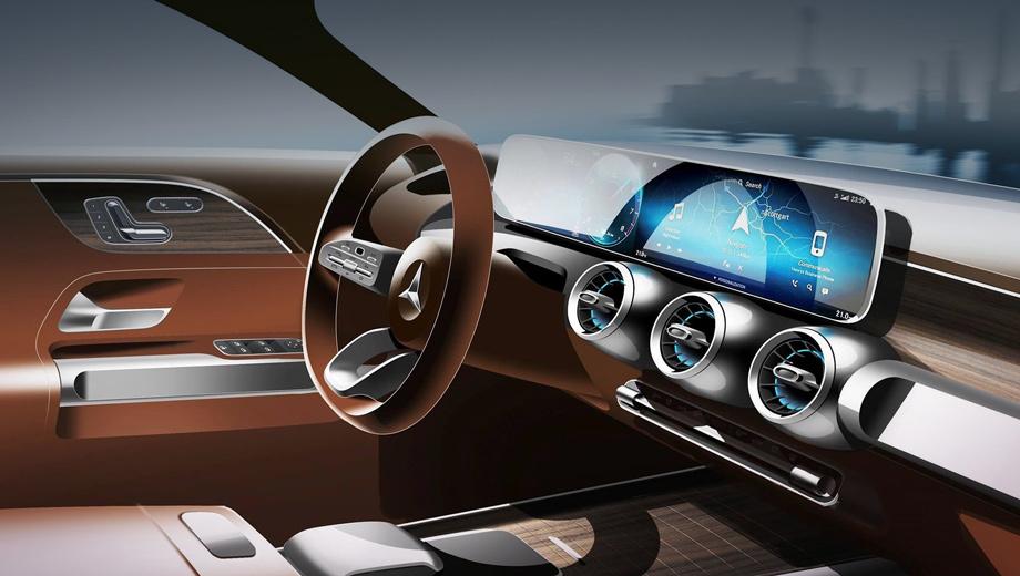 Mercedes glb. Единственный тизер зачем-то демонстрирует кокпит MBUX, которым вовсю пользуются «ашки», B-класс и CLA, тогда как флагманский S-класс от него уже отказывается.