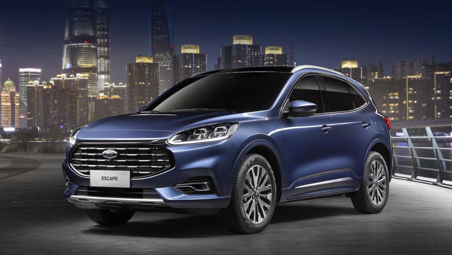 Паркетник Ford Escape для Китая отличился большой решёткой