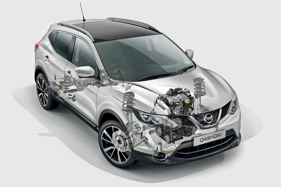 Nissan Qashqai I - разгон до 100 км/ч