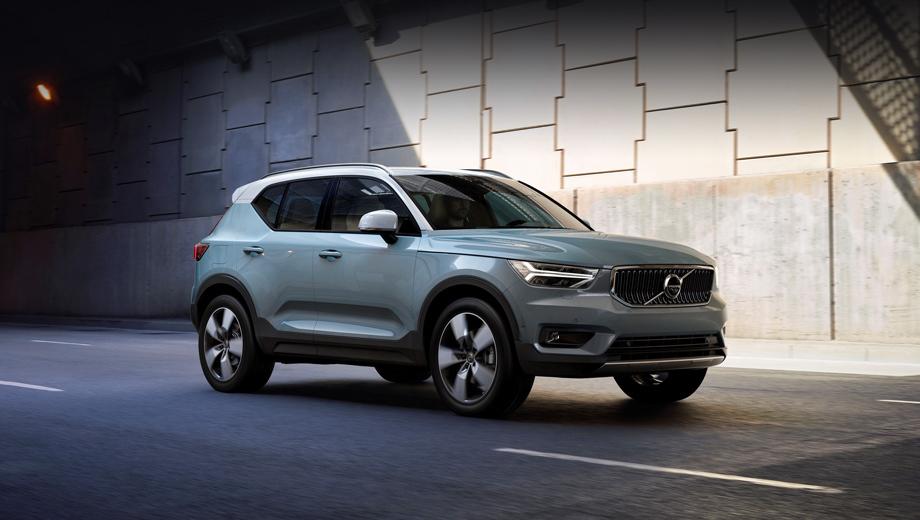Volvo xc40. На данный момент XC40 является второй по популярности моделью Volvo в мире после XC60. Так, в марте они разошлись в количестве 18 036 и 12 614 штук соответственно.