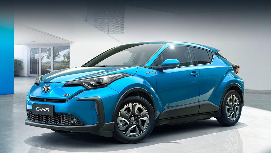 Toyota c-hr,Toyota c-hr ev,Toyota izoa,Toyota izoa ev,Toyota concept,Toyota rhombus. Год назад японцы только анонсировали выход батарейного C-HR. Теперь на него можно посмотреть. Увы, детальные параметры всё равно остались за кадром.