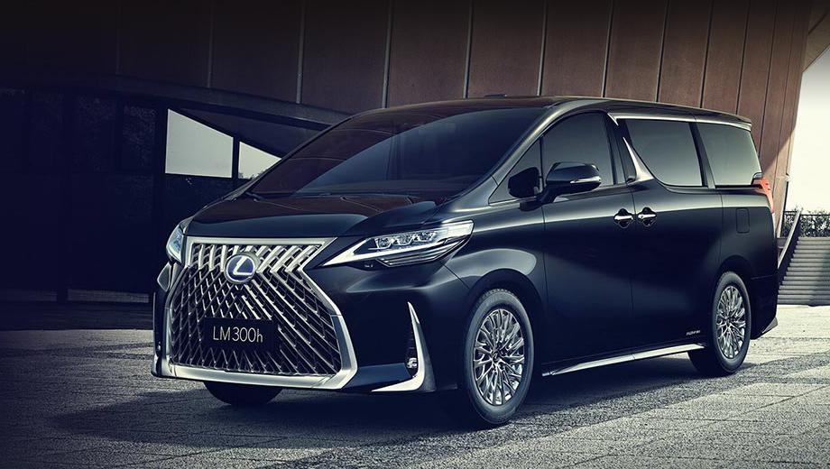 Lexus lm. Первые сообщения о минивэне Лексуса казались шуткой, но нет: такая модель действительно построена.