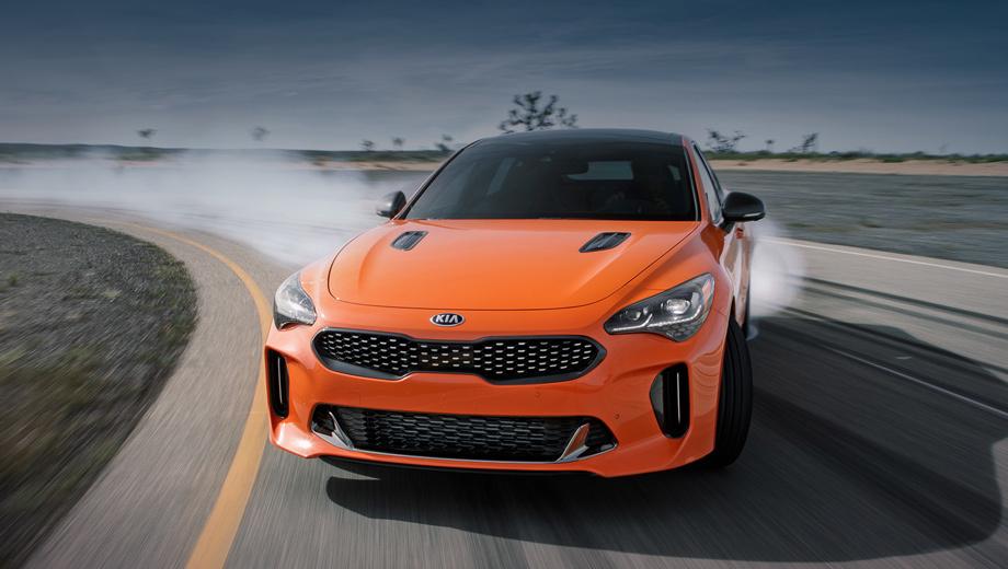 Kia stinger,Kia stinger gts. Своим появлением функция обязана Альберту Бирманну, который недавно возглавил отдел разработок концерна Hyundai. Теперь нужен одобрительный фидбек, чтобы режим Drift mode стал опцией для стандартных Стингеров.