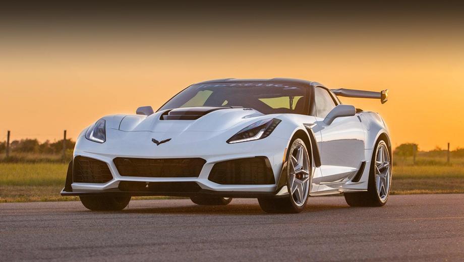 Chevrolet corvette,Chevrolet corvette zr1. Одинаковое увеличение мощности предлагается для ZR1 как с семиступенчатой «механикой», так и с восьмиступенчатым «автоматом». В первом случае вмешательства бюро в коробку не потребуется (у неё хороший запас прочности), а вот «автомат» будет доработан под возросшую тягу.