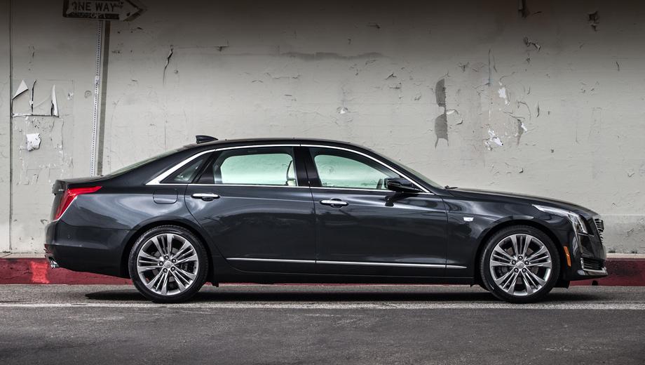 Cadillac ct6. В прошлом году Cadillac CT6 в США купили 9668 человек против 10 542 в 2017-м.