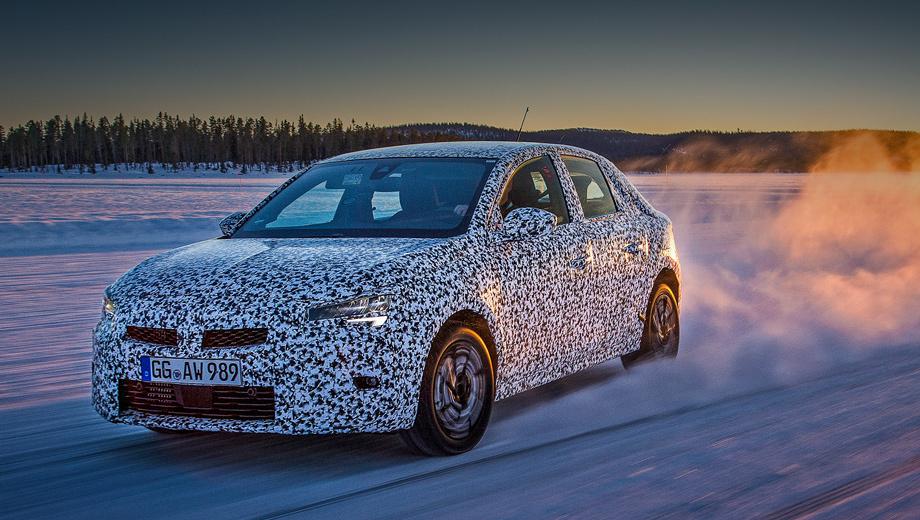 Opel corsa. Это не фотки старые, это полярная зима продолжается сейчас в Швеции. Там с января проходят низкотемпературные испытания шасси, трансмиссии, электроники и светотехники предсерийной Корсы.