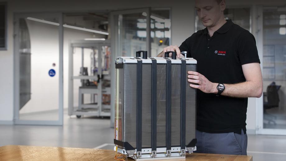 Компания Bosch наладит массовый выпуск топливных элементов
