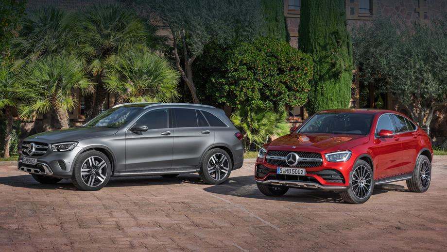 Mercedes glc,Mercedes glc coupe,Mercedes glc amg,Mercedes glc coupe amg. У GLC теперь две базовые версии: 200 4Matic и 220 d 4Matic. Стоят одинаково — 3,65 млн. Доплата за Coupe (от 3,98 млн) в зависимости от двигателя составляет 190-330 тысяч.